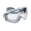 Stealth Antifog, Antiscratch, Antistatic Goggles, Clear Lens, Gray Frame