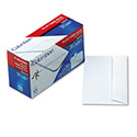 Grip-Seal Business Envelope, #6 3/4, Commercial Flap, Self-Adhesive Closure, 3.63 x 6.5, White, 55/Box