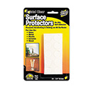 "Scratch Guard Surface Protectors, 0.75"" dia, Circular, Clear, 20/Pack"