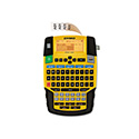 Rhino 4200 Basic Industrial Handheld Label Maker, 1 Line, 4 3/50x8 23/50x2 6/25
