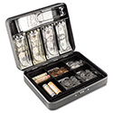 Cash Box w/Combination Lock, Charcoal
