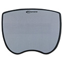 Ultra Slim Mouse Pad, Nonskid Rubber Base, 8-3/4 x 7, Gray