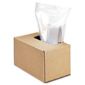 Shredder Waste Bags, 50 gal Capacity, 50/Carton