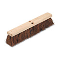 "Floor Brush Head, 3 1/4"" Natural Palmyra Fiber, 18"""