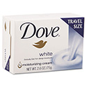 White Travel Size Bar Soap with Moisturizing Lotion, 2.6oz, 36/Carton