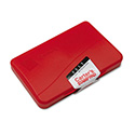 Felt Stamp Pad, 4 1/4 x 2 3/4, Red
