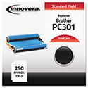 Compatible PC301 Thermal Transfer Print Cartridge, 250 Page-Yield, Black