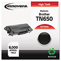 Remanufactured TN650 High-Yield Toner, 8000 Page-Yield, Black