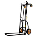 Multi-Cart 8-in-1 Cart, 500 lb Capacity, 33.25 x 17.25 x 42.5, Black