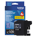 LC109BK Innobella Super High-Yield Ink, 2400 Page-Yield, Black