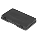 Storage/Trash Compartment Cover, Plastic, Black