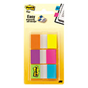 Page Flags in Portable Dispenser, Assorted Brights, 60 Flags/Pack