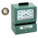 Model 125 Analog Manual Print Time Clock with Date/0-23 Hours/Minutes