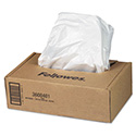 Shredder Waste Bags, 16-20 gal Capacity, 50/Carton