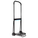 Ultra-Lite Folding Cart, 150 lb Capacity, 9.75 x 11 Platform, Black