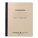 Stitched Composition Book, Legal Rule, 8 1/2 x 7, WE, 20 Sheets
