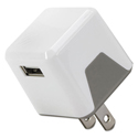 Supercube Flip Wall Charger, Usb, White