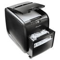 Stack-and-Shred 80X Auto Feed Cross-Cut Shredder, 80 Auto/6 Manual Sheet Capacity