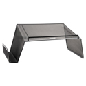 Mesh Telephone Desk Stand, 10 x 11 1/4 x 5 1/4, Black