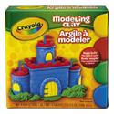 Modeling Clay Assortment, 1/4 lb each Blue/Green/Red/Yellow, 1 lb