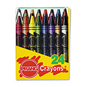 Crayons Made with Soy, 24 Colors/Box