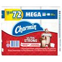 Ultra Strong Bathroom Tissue, 2-Ply, 286 Sheet/Roll, 18/Pack