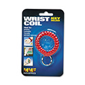 Wrist Coil with Key Ring, Red