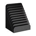 "Cashier Pad Rack, Steel, 10 Pockets, 8"" w x 6-3/4"" d x 11"" h, Black"