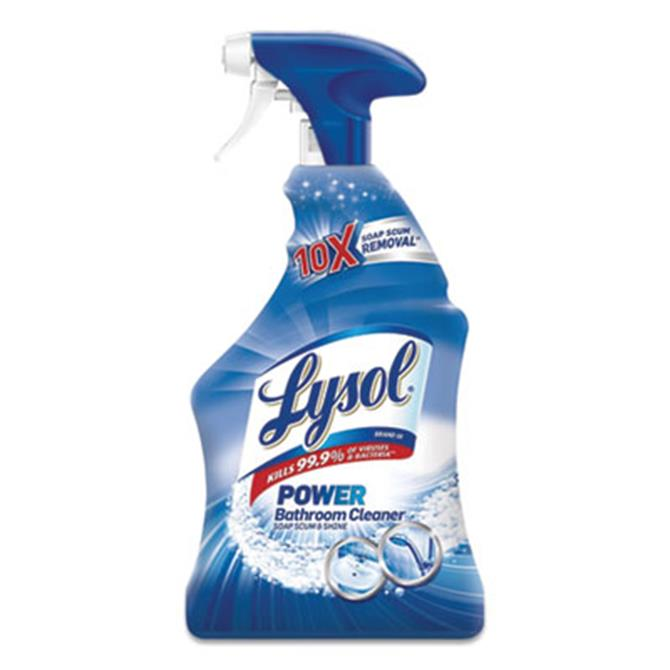 Disinfectant Bathroom Cleaners, Liquid, Island Breeze, 22 oz Trigger Spray Bottle, 6/Carton