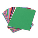 Construction Paper, 58lb, 9 x 12, Assorted, 50/Pack