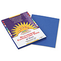 Construction Paper, 58lb, 9 x 12, Bright Blue, 50/Pack