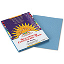 Construction Paper, 58lb, 9 x 12, Sky Blue, 50/Pack