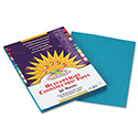 Construction Paper, 58lb, 9 x 12, Turquoise, 50/Pack