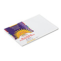 Construction Paper, 58 Lbs., 12 X 18, White, 50 Sheets/pack