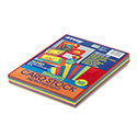 Array Card Stock, 65lb, 8.5 x 11, Assorted Bright Colors, 100/Pack