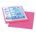 Tru-Ray Construction Paper, 76lb, 9 x 12, Shocking Pink, 50/Pack