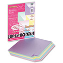 Reminiscence Card Stock, 65lb, 8.5 x 11, Assorted Pastel Pearl Colors, 50/Pack