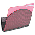 Onyx Magnetic Mesh Panel Accessories, Single File Pocket, Black