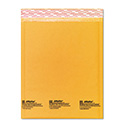 Jiffylite Self-Seal Bubble Mailer, #2, Barrier Bubble Lining, Self-Adhesive Closure, 8.5 x 12, Golden Brown Kraft, 10/Pack