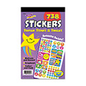 Sticker Assortment Pack, Super Stars and Smiles, 738 Stickers/Pad