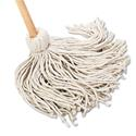 "Deck Mop, 54"" Wooden Handle, 20oz Cotton Fiber Head, 6/Carton"