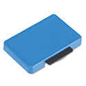 T5440 Dater Replacement Ink Pad, 1 1/8 x 2, Blue