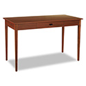 Apres Table Desk, 48w X 24d X 30h, Cherry