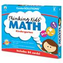 CenterSOLUTIONS Thinking Kids Math Cards, Kindergarten Level
