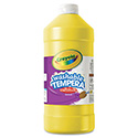 Artista Ii Washable Tempera Paint, Yellow, 32 Oz