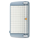"TrimAir Titanium Rotary Paper Trimmer, Wide Base, 12"", Grey"