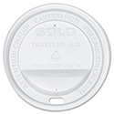 Traveler Drink-Thru Lid, White, 300/Carton