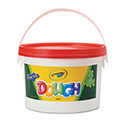 Modeling Dough Bucket, 3 lbs., Red