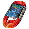 Vinyl Outdoor Extension Cord, 25ft, 13 Amp, Orange