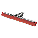 "Heavy-Duty Water Wand, 30"" Wide Blade, Red Neoprene, Tapered Socket"